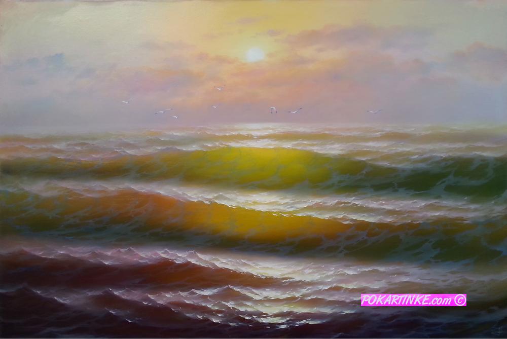 Шепот моря - картинная галерея PoKartinke.com