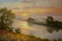 Схід сонця на Десні