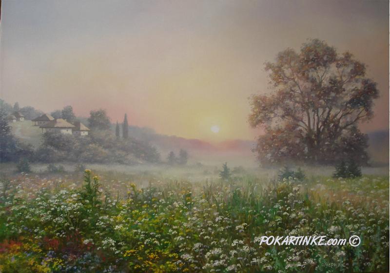 Схід сонця - картинная галерея PoKartinke.com