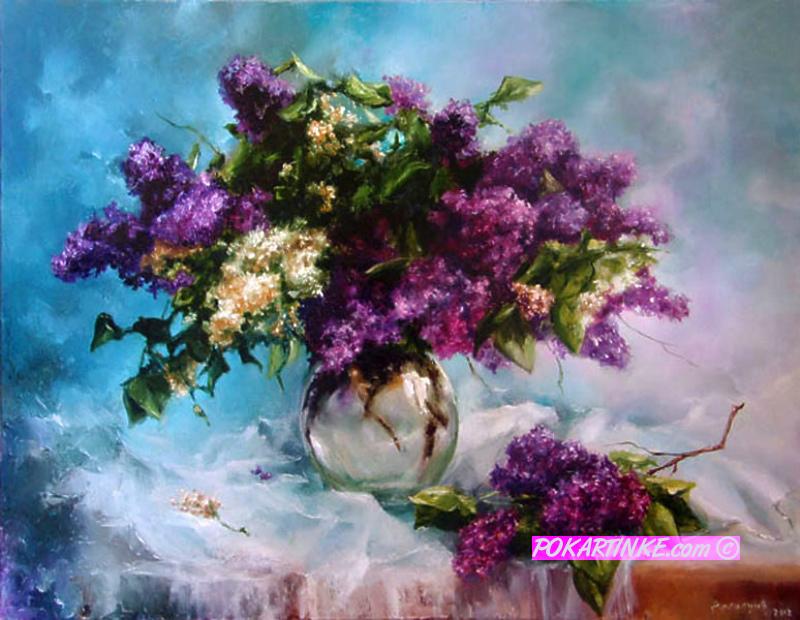 Сирень - картинная галерея PoKartinke.com