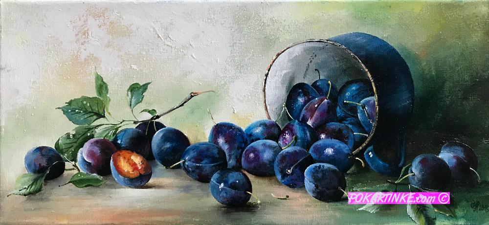 Сливы - картинная галерея PoKartinke.com