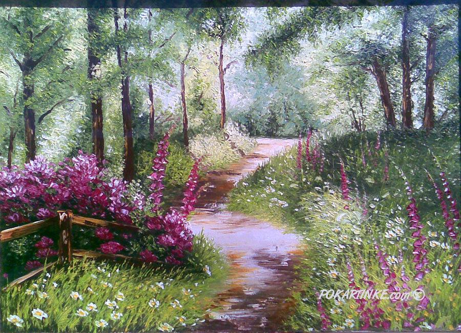 Солнечная тропинка - картинная галерея PoKartinke.com