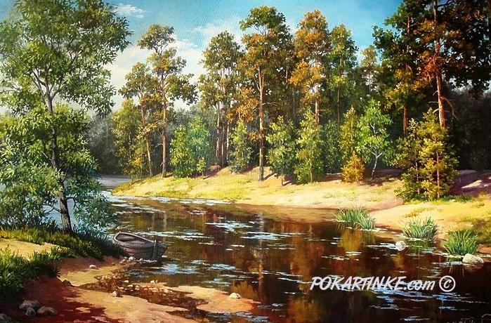 Сосновые берега - картинная галерея PoKartinke.com