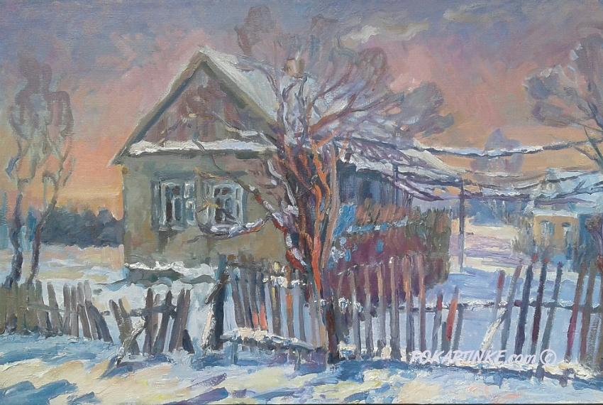 Зимова хатинка - картинная галерея PoKartinke.com