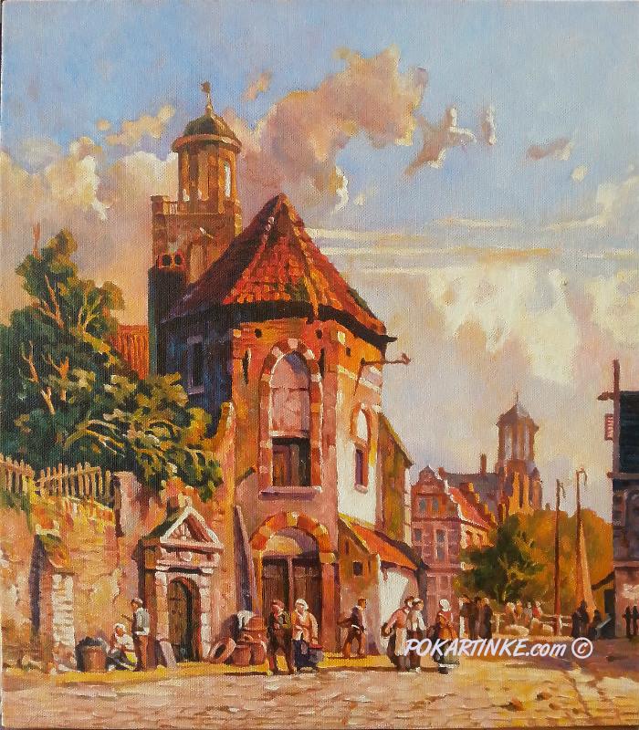 Старая Голланадия - картинная галерея PoKartinke.com