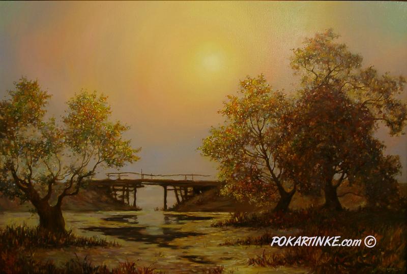 Старый мост - картинная галерея PoKartinke.com