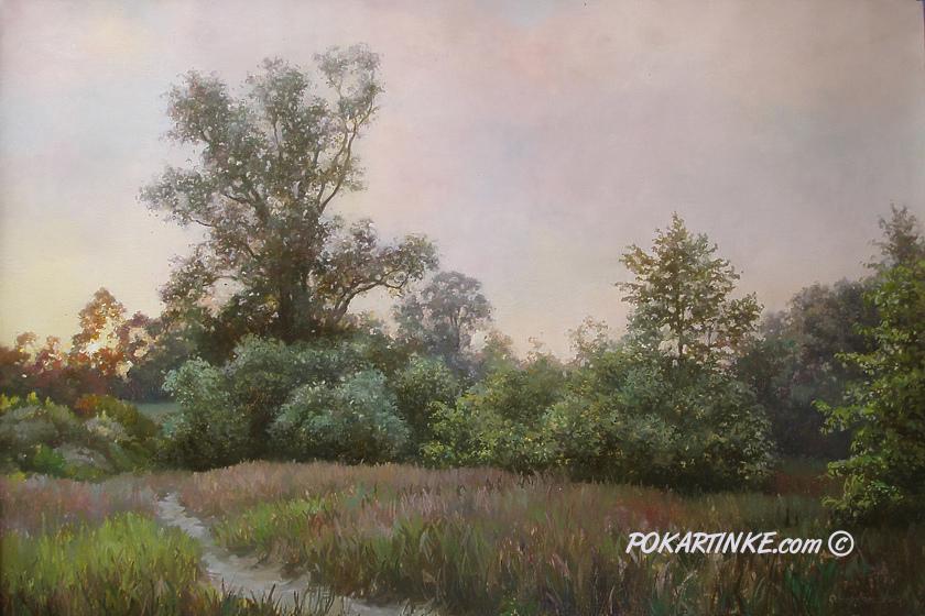 Сумерки. Лето - картинная галерея PoKartinke.com