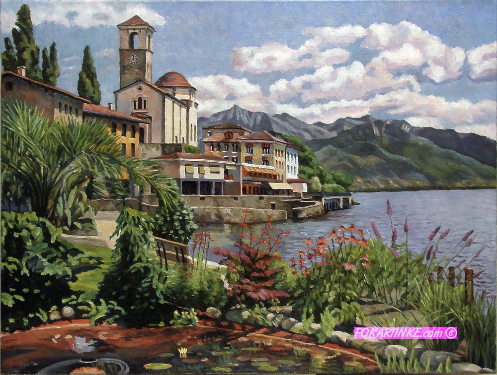 Озеро Лаго Маджоре - картинная галерея PoKartinke.com