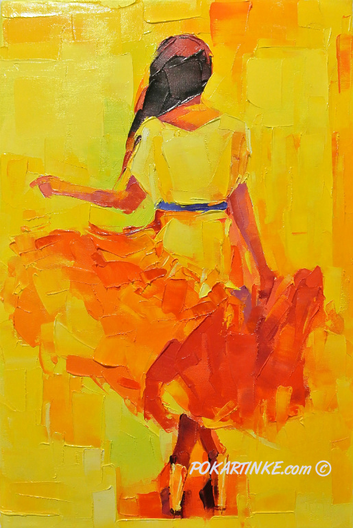 Танцовщица - картинная галерея PoKartinke.com