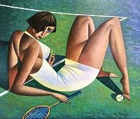 Игра в теннис