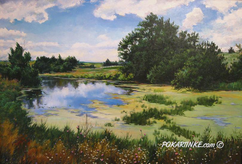 Тихая заводь - картинная галерея PoKartinke.com