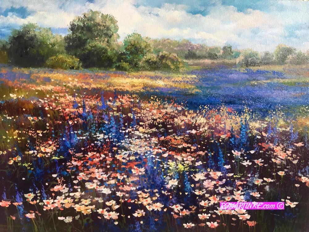 Буйное цветение - картинная галерея PoKartinke.com