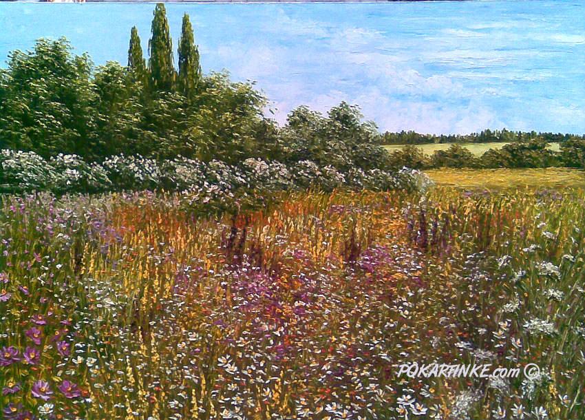 Дикие травы - картинная галерея PoKartinke.com