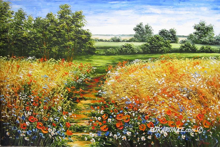 Тропа цветочных ароматов - картинная галерея PoKartinke.com