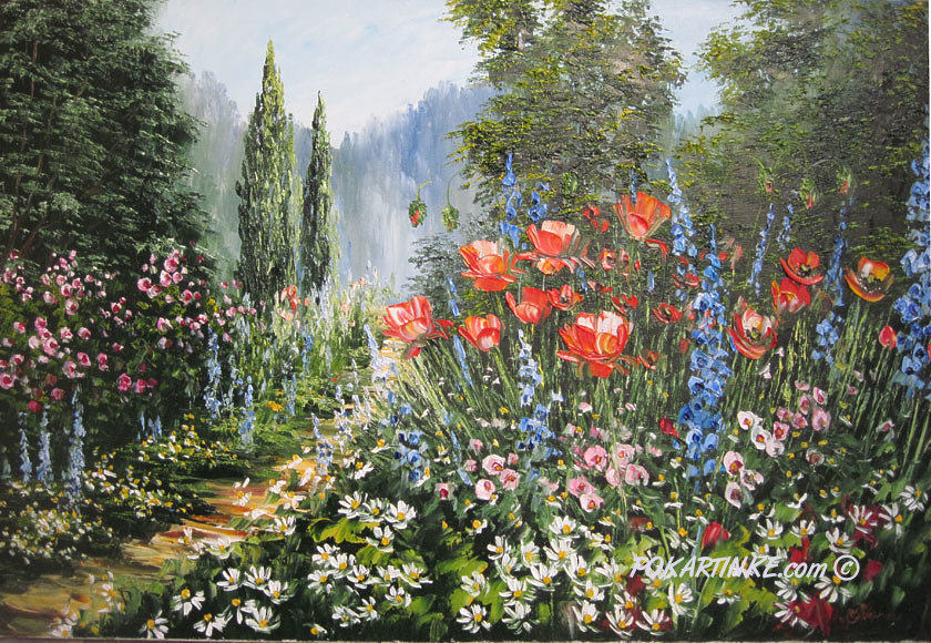 Тропа цветов - картинная галерея PoKartinke.com