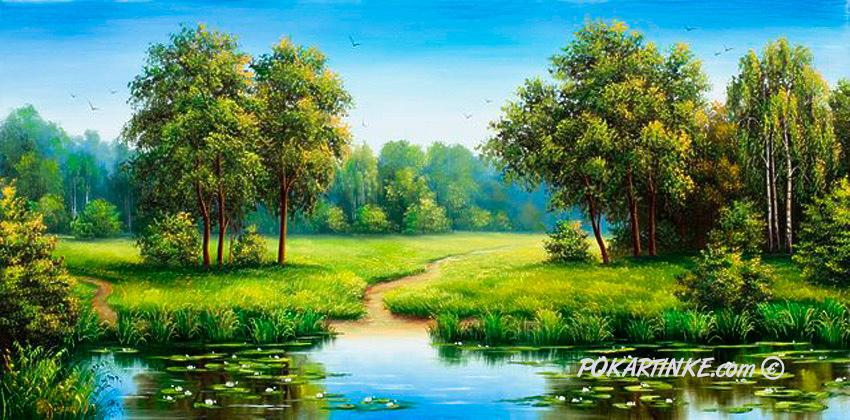 У воды - картинная галерея PoKartinke.com
