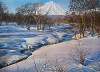 У зимнего ручья