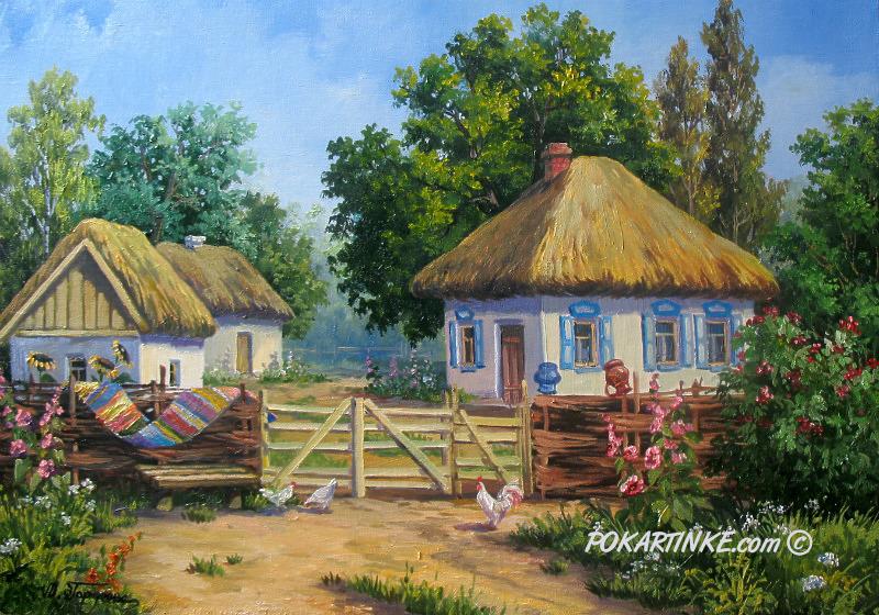 Украинский хутор - картинная галерея PoKartinke.com