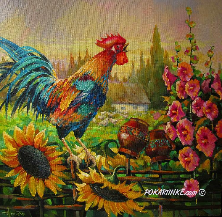 Украинский пейзаж - картинная галерея PoKartinke.com