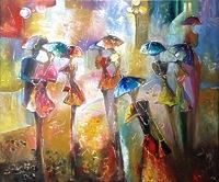 Вечерние зонтики