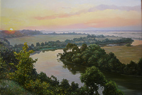 Утренняя река