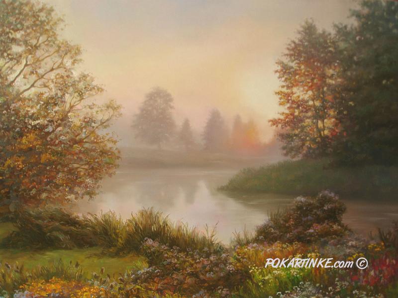 Утренняя тишина - картинная галерея PoKartinke.com