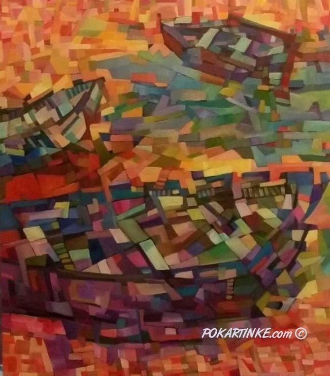 Утренняя туманность - картинная галерея PoKartinke.com