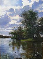 Утро на реке Турунчук