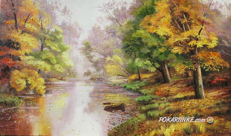 Утро туманное - картинная галерея PoKartinke.com