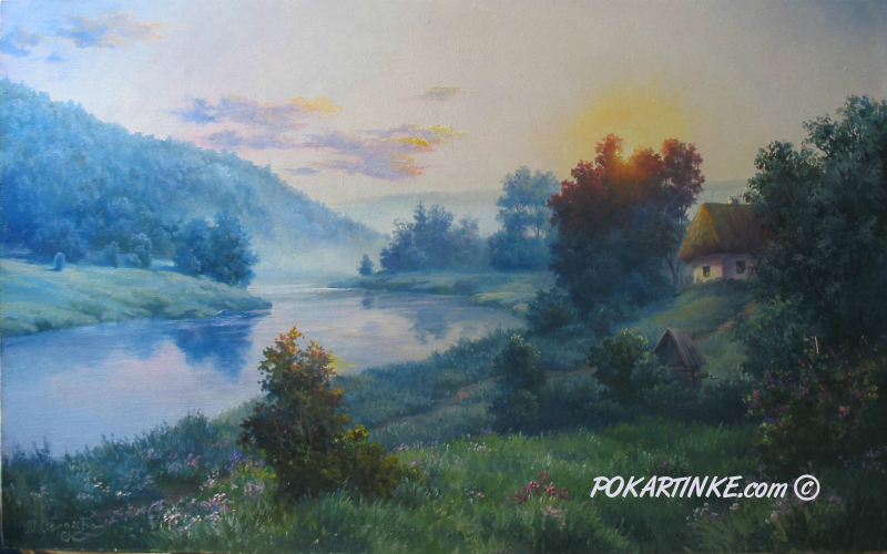 Утро - картинная галерея PoKartinke.com