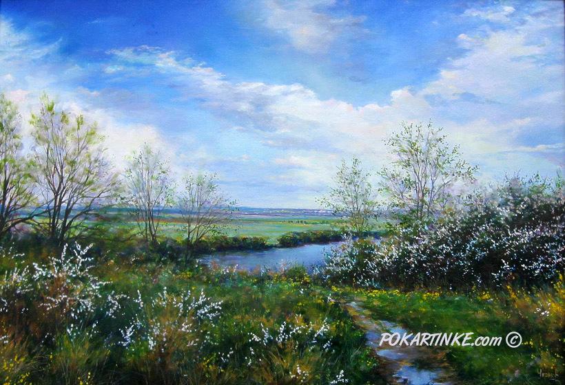 Утром весною - картинная галерея PoKartinke.com