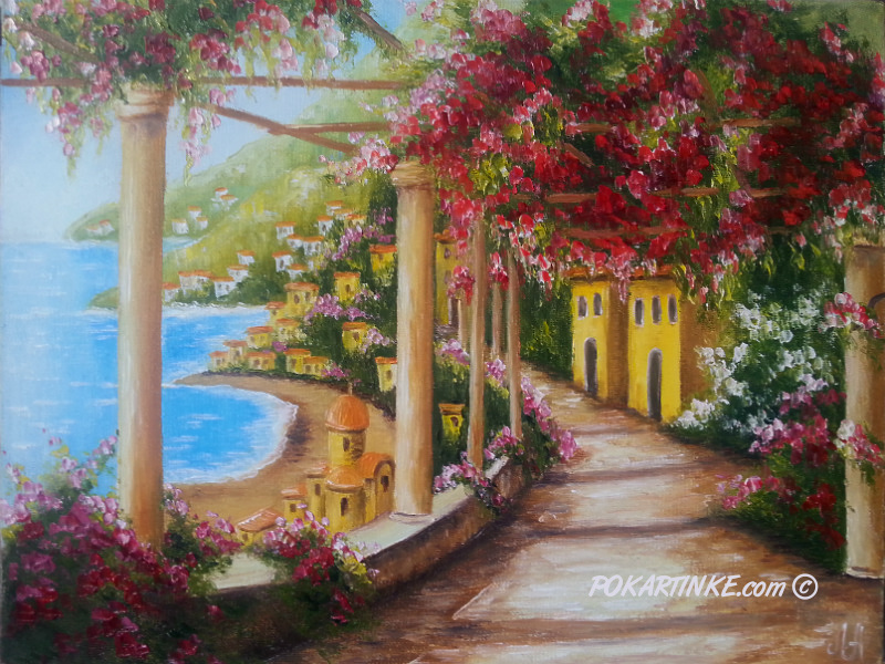 В Италии - картинная галерея PoKartinke.com