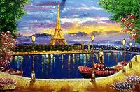 Вечерняя романтика Парижа