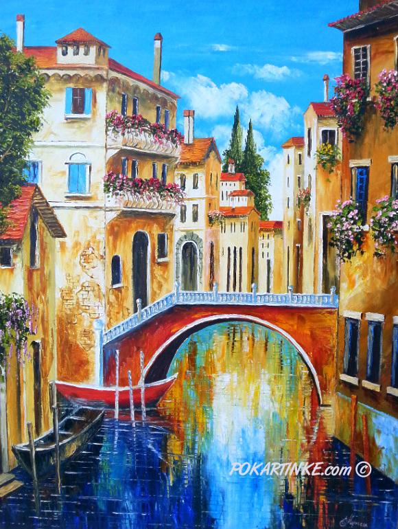 В Венеции - картинная галерея PoKartinke.com