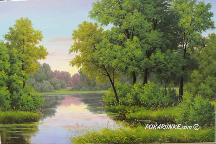 Весенняя свежесть - картинная галерея PoKartinke.com