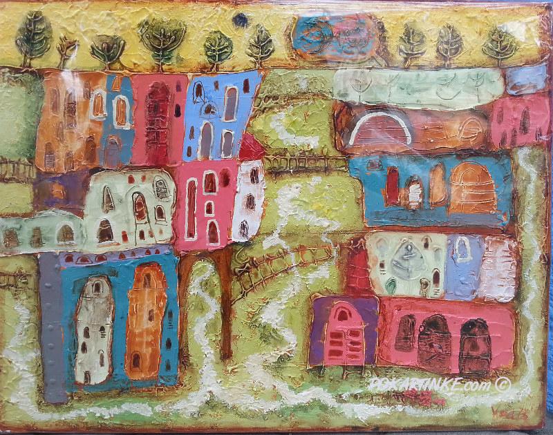Весенний городок - картинная галерея PoKartinke.com