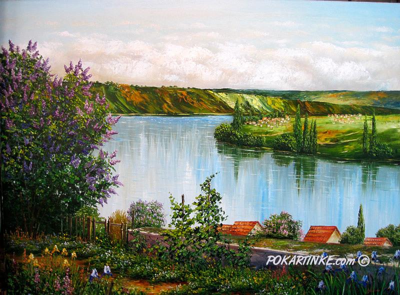 Весенний разлив - картинная галерея PoKartinke.com