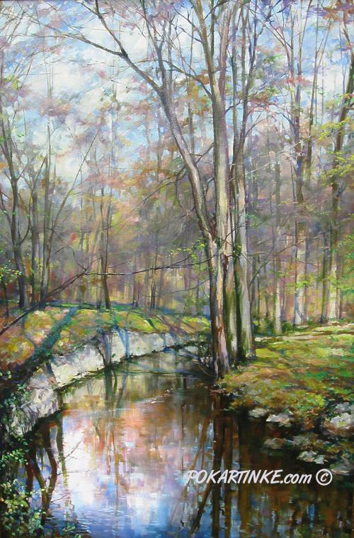 Весна в Софиевке - картинная галерея PoKartinke.com