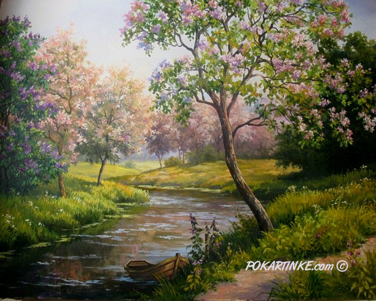 Весна - картинная галерея PoKartinke.com