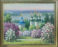 Выдубицкий монастырь весной