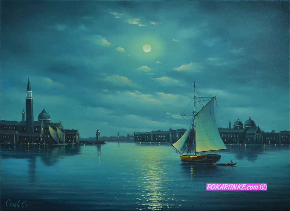 Венецианская ночь - картинная галерея PoKartinke.com
