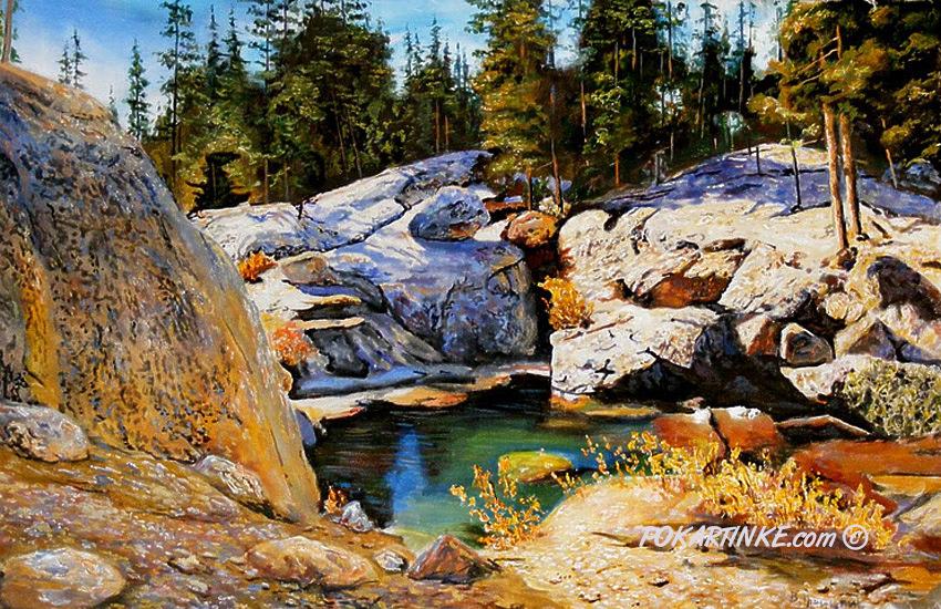 Камень и вода - картинная галерея PoKartinke.com