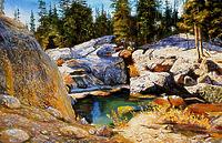 Камень и вода