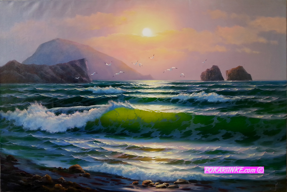 Волна - картинная галерея PoKartinke.com