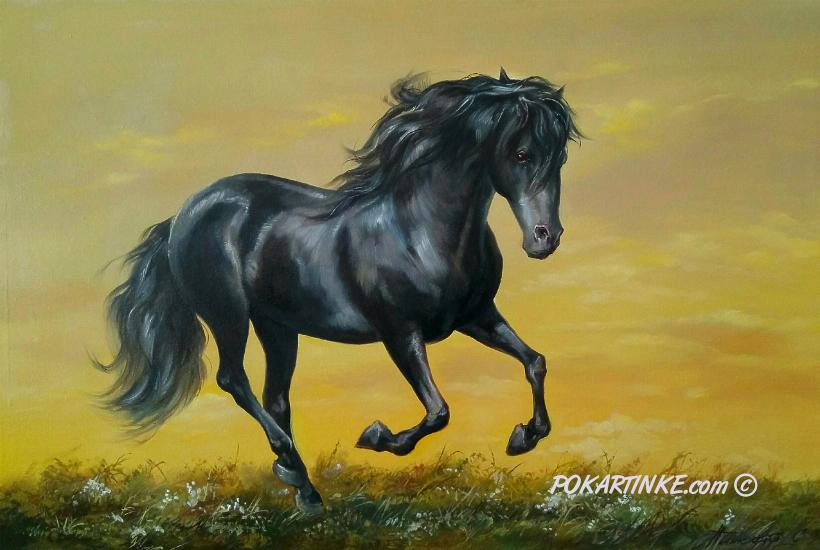 Вороной - картинная галерея PoKartinke.com