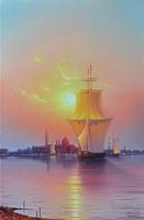 Восход солнца над Венецией