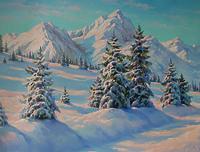 Зимние горы