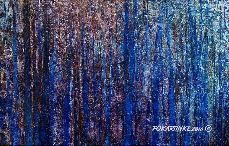 Зимний этюд - картинная галерея PoKartinke.com