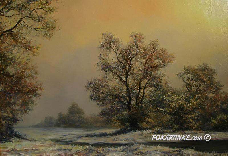 Зимний мотив - картинная галерея PoKartinke.com