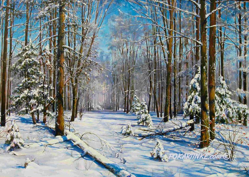 Зимняя сказка - картинная галерея PoKartinke.com